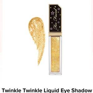 Too Faced |  liquid glitter eyeshadow